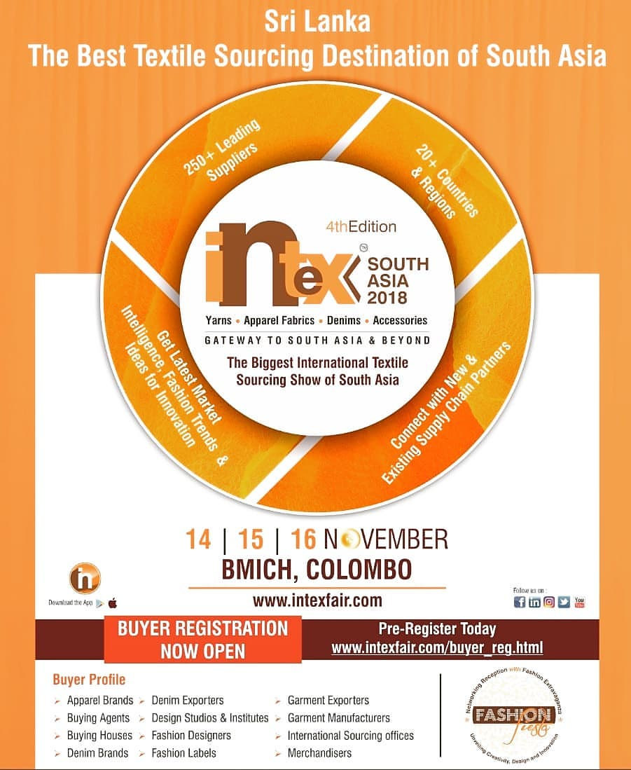 Intex South Asia (13 to 15 Nov 2019),Colombo,