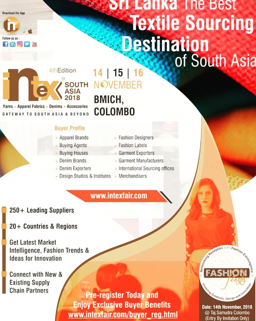 Intex South Asia (13 to 15 Nov 2019),Colombo,