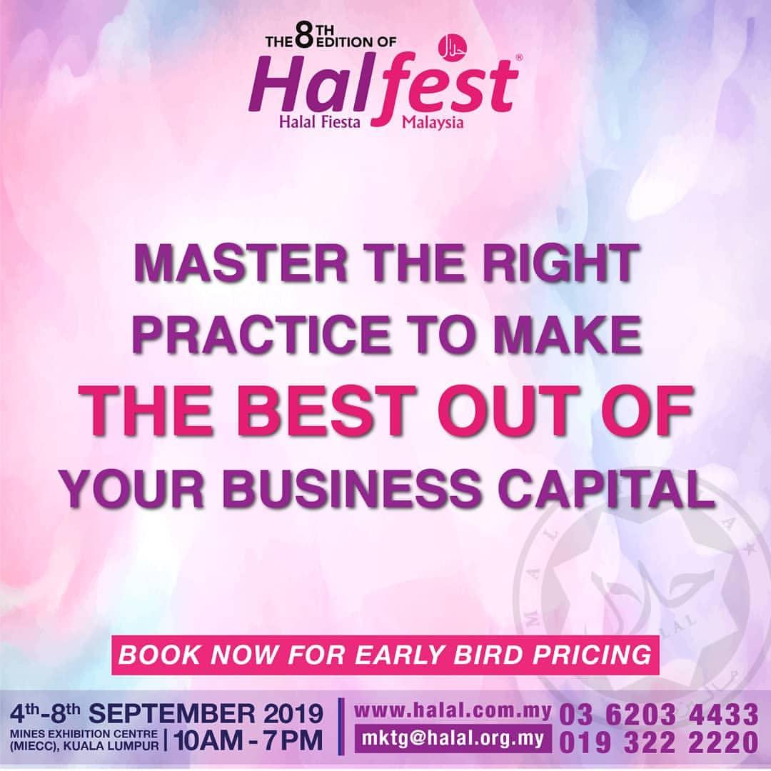 Halal Fiesta Malaysia (HALFEST) (04 to 08 Sep 2019),Kuala Lumpur,