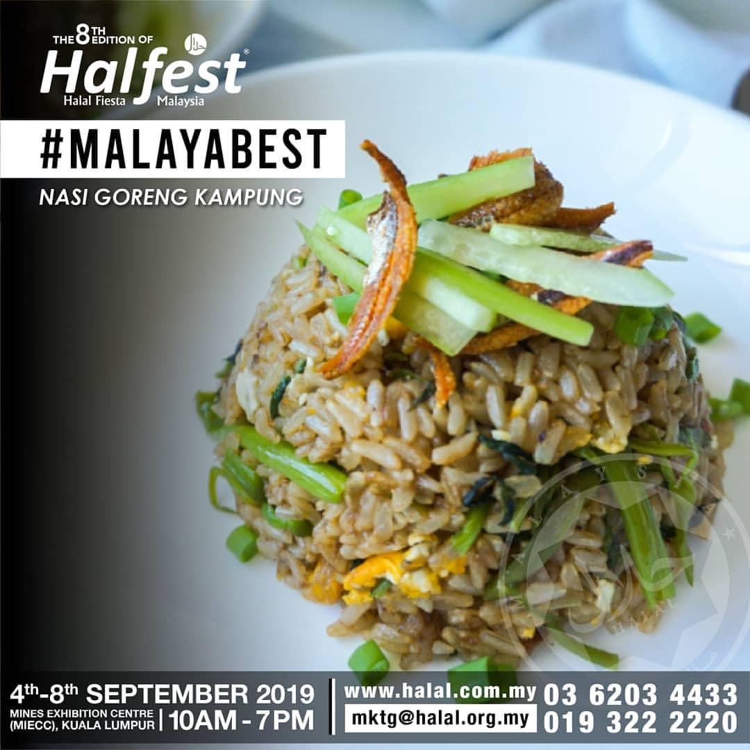 Halal Fiesta Malaysia (HALFEST) (04 to 08 Sep 2019),Kuala