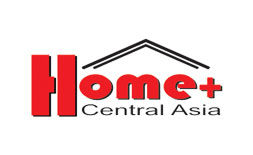 HOME+ CENTRAL ASIA + KASINTERMEBEL+WOOD  logo ilikevents