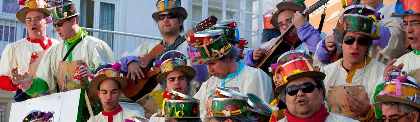 Cadiz carnival banner ilikevents