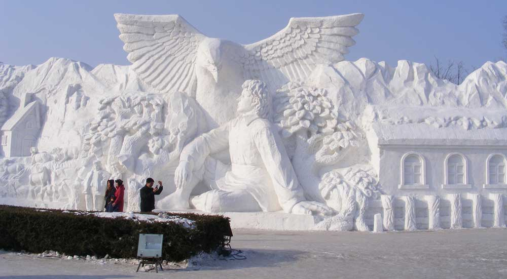 Harbin ice and snow sculpture festival dec to