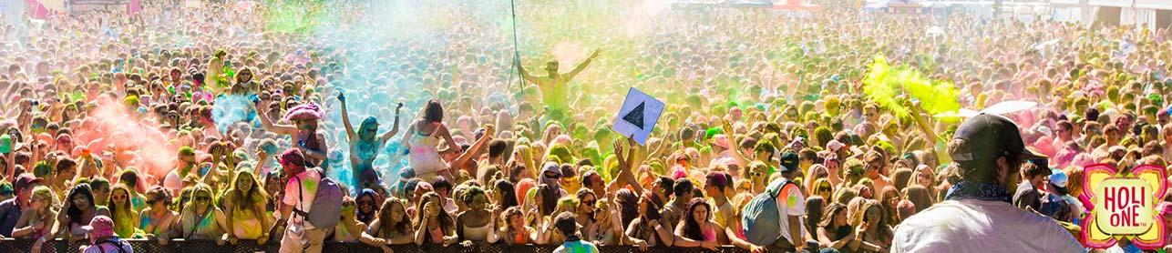 Holi India Color Festival banner ilikevents