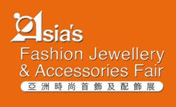 Asia's Fashion Jewellery and Accessories Fair (AFJ) logo ilikevents