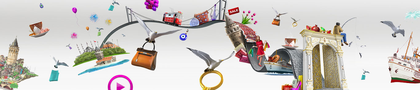 Istanbul Shopping Fest banner ilikevents