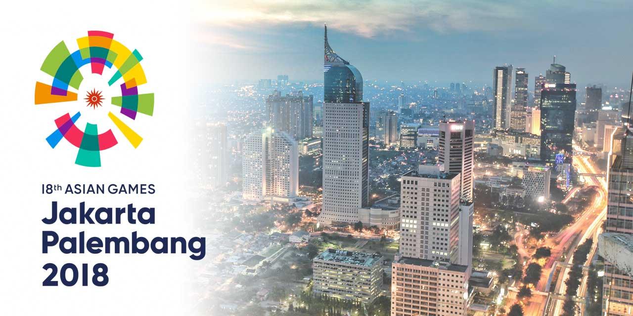 Asian Games Jakarta-Palembang 2018 banner ilikevents
