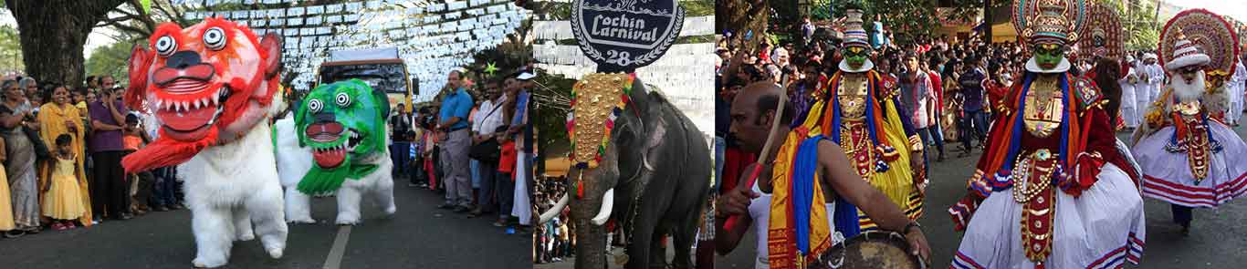 Cochin Celebration and Carnival banner ilikevents