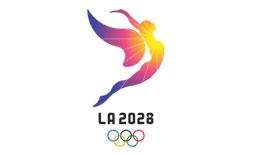 LA 2028 logo ilikevents