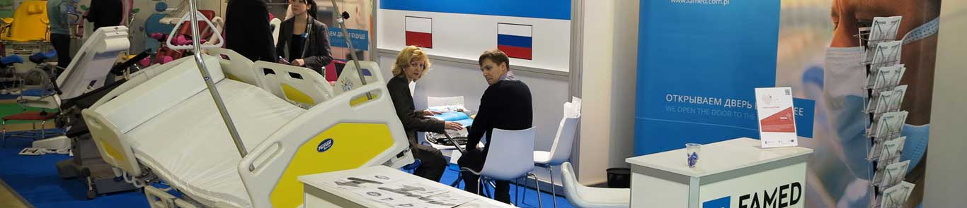 Russia Healthcare, Medical Engineering and Pharmaseutical Expo (ZDRAVOOKHRANENIYE) banner ilikevents