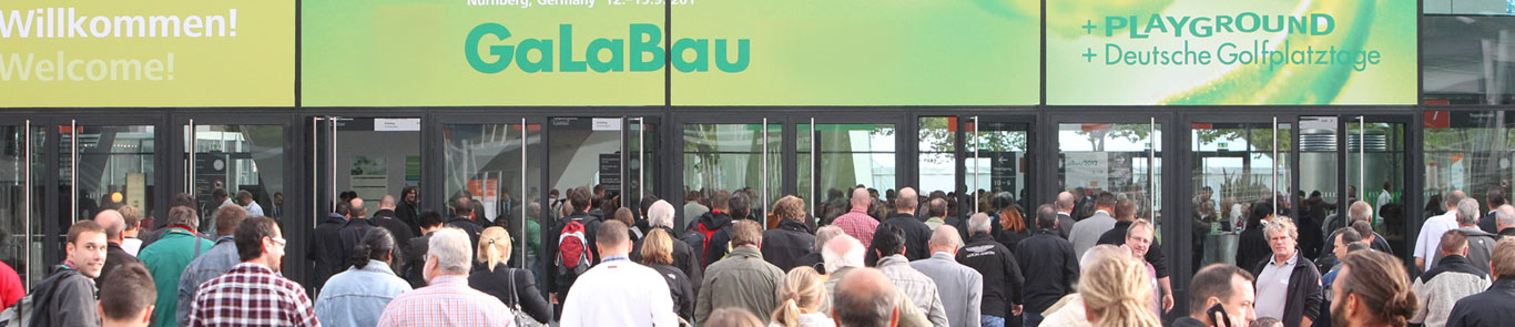 Nuremberg Trade Fair for Urban Green and Open Spaces (GaLaBau) banner ilikevents
