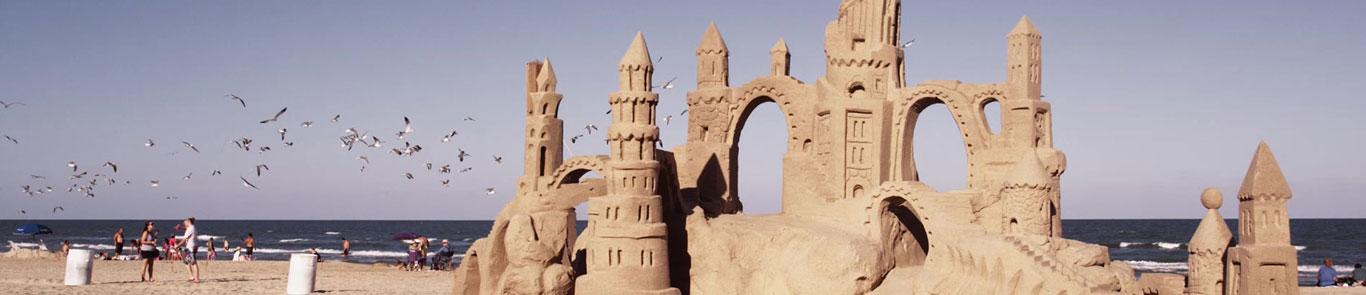 International Sand Sculptures Festival ( FIESA) banner ilikevents