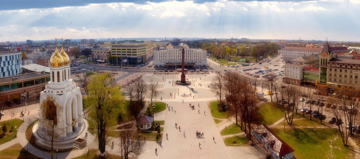 Kaliningrad city russia 2018