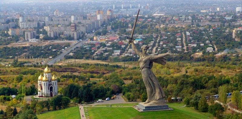 volgograd city russia 2018